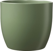 Cache-pot Soendgen Basel Fashion céramique Ø 13 H 12 cm vert mousse-thumb-0