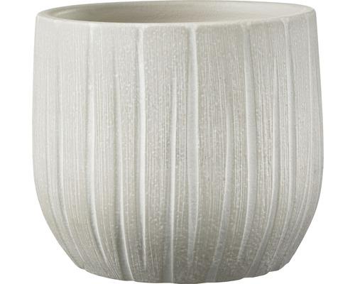 Pot Cr/ème Longueur 16/cm hauteur 14/cm Largeur 16/cm