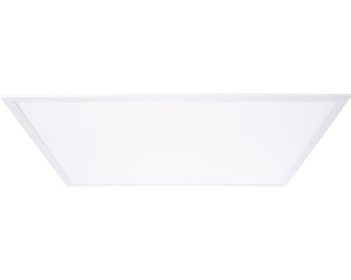 Structure de panneau LED IP20 1x45W 4500lm 2700K blanc chaud 750x750mm Buffi blanc