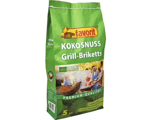 Briquette coco favorite 5 kg