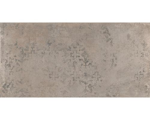 Feinsteinzeug Dekorfliese WOHNIDEE Saragossa Taupe 30 x 60 cm
