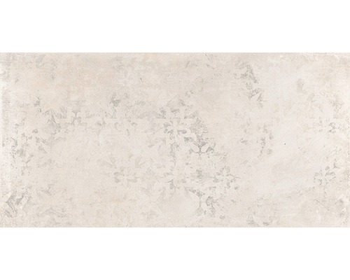 Carrelage sol en grès cérame fin décoratif WOHNIDEE Saragossa beige 30 x 60 cm-0