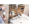 Plaque de montage REIKA Ovaro pour accessoires aimantés 66,5x5cm polie