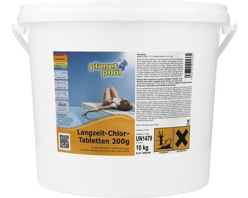 Comprimés de chlore action longue durée 200g/pièce 10kg