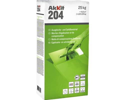 Mortier de compensation et pour pentes Akkit 204 25kg