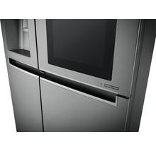 Side by Side Kühlschrank LG GSI961PZAZ BxHxT 91,2 x 179 x 73,8 cm Kühlteil 411 l Gefrierteil 214 l 431 kWh/Jahr edelstahl mit InstaView-Funktion: klopfen und reinschauen-thumb-13