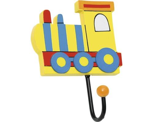 Portemanteau enfants 120 mm locomotive, 1 crochet