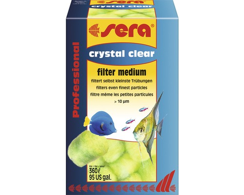 Filtermedium sera crystal clear Professional 12 Stück