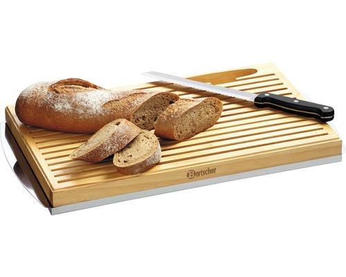 Bartscher Brot-Schneidebrett inkl. Brotmesser C120100