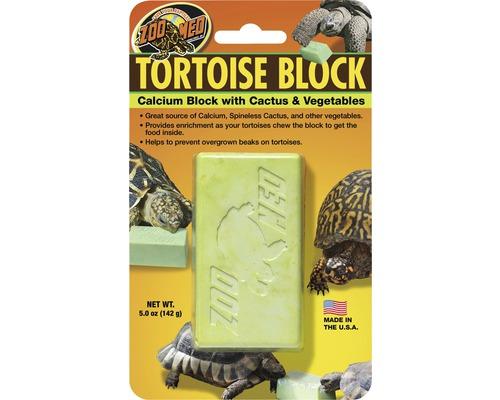 Source de calcium Zoo Med Tortoise Block avec cactus Opuntia