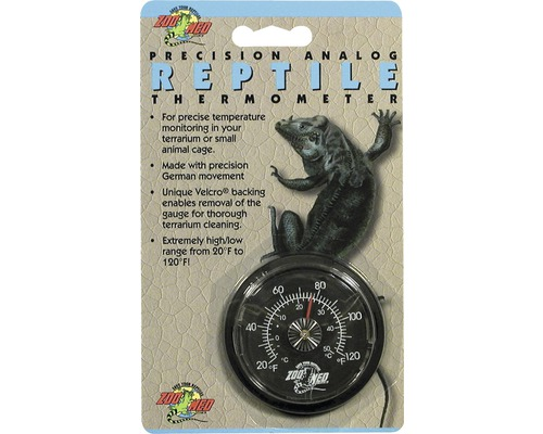 Thermomètre ZOO MED Reptile analogue