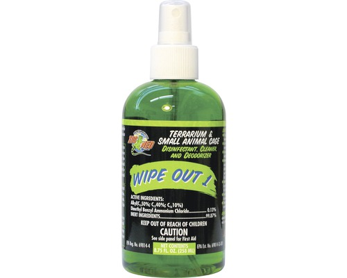 Désinfectant Zoo Med Wipe Out 1 Terrarium Cleaner 258 ml