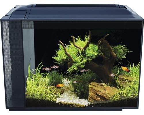 Aquarium Fluval Spec XV 60 l avec éclairage LED et système de filtre, noir
