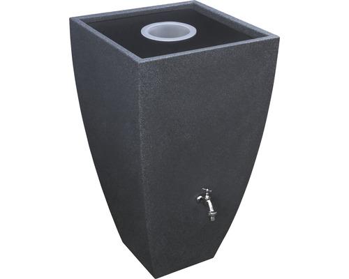 Cuve de collecte d''eau de pluie Modena 200 L black granite