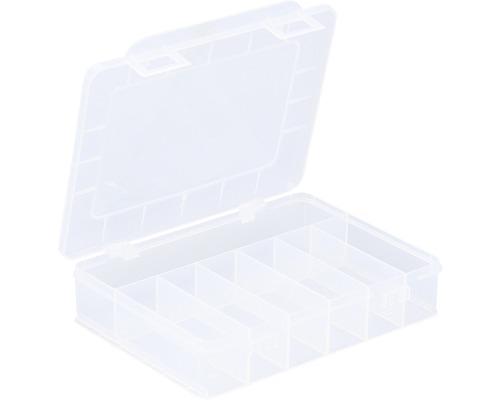 Organisateur boîte à assortiment avec 7 compartiments