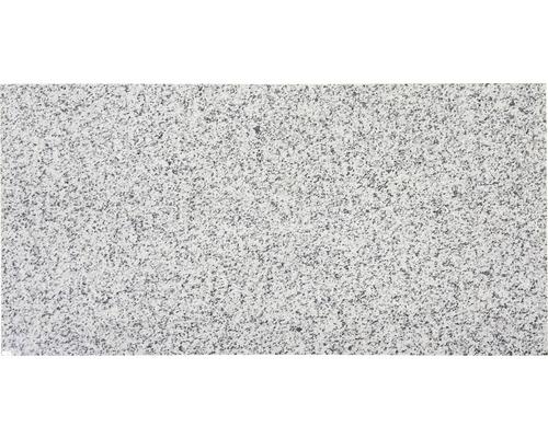 Carrelage de sol en granit gris clair 30,5x61cm poli