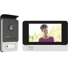 Système d'interphone Philips WelcomeEye Touch avec fonction vidéo argent/noir-thumb-0