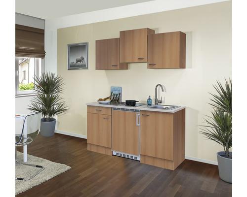 Kitchenette Nano 150cm décor hêtre/décor hêtre