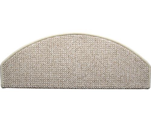 Marchette d''escalier Tivoli ivoire 28x65 cm, lot de 15