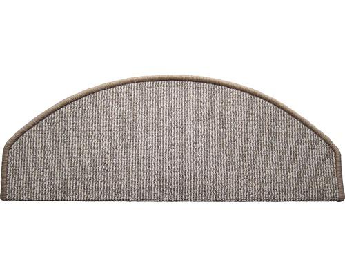 Marchette d''escalier Tabago beige 28x65 cm, lot de 15