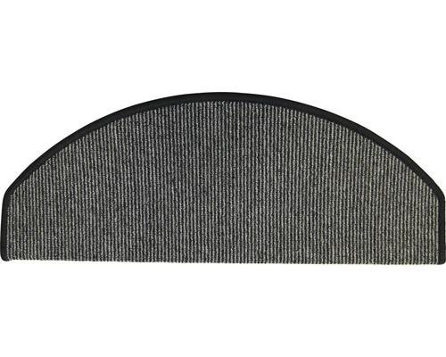 Marchette d''escalier Tabago anthracite 28x65 cm, lot de 15