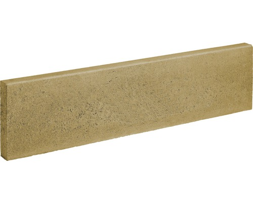 Pierres de bordure de gazon jaune-sable 100x25x6 cm