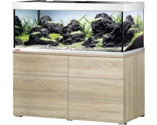 Ensemble D Aquarium Eheim Proxima 325 Classic Avec Eclairage Led Et Meuble Bas Chene Hornbach Luxembourg