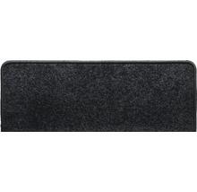 Marchette d''escalier Dynasty noir 28x65 cm-thumb-0