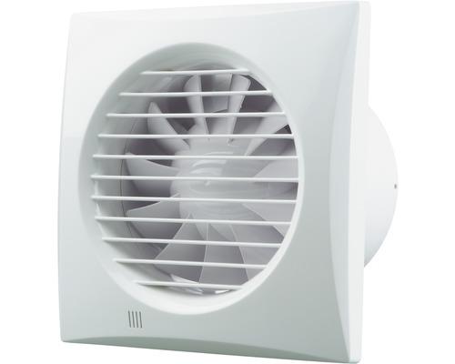 Ventilateur en montage encastré pour puits Rotheigner Air Quiet 125 avec minuterie et film anti-retour