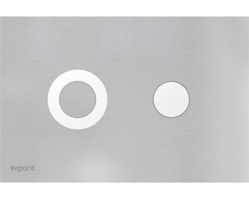 veporit. Plaque de déclenchement DOT 1.02 acier inoxydable