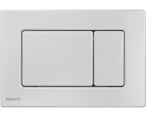 Plaque d''actionnement veporit. METAL 1.02 antivandal acier inoxydable mat