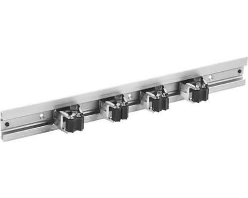 Gerätehalterleiste Aluminium