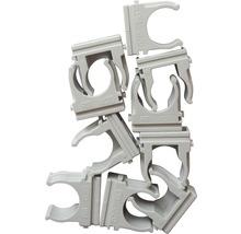 Collier de serrage M16 pour tuyau d''installation, gris 50 unités-thumb-1