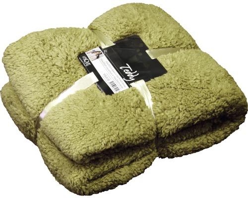 Decke Teddy grün 150x200 cm