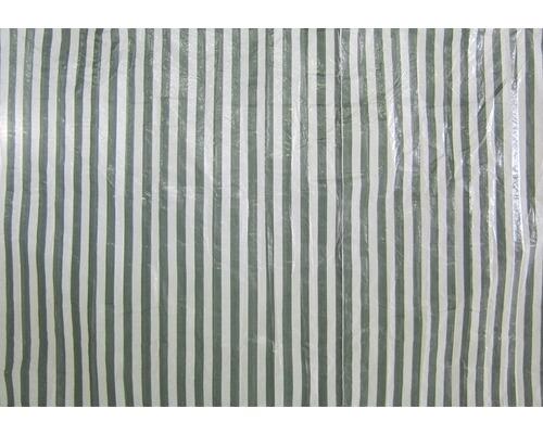 Paroi latérale sans fenêtre pour tonnelle Adria, vert et blanc