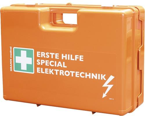 Coffret de pansements spécial électricien DIN 13 157, équipement spécial inclus