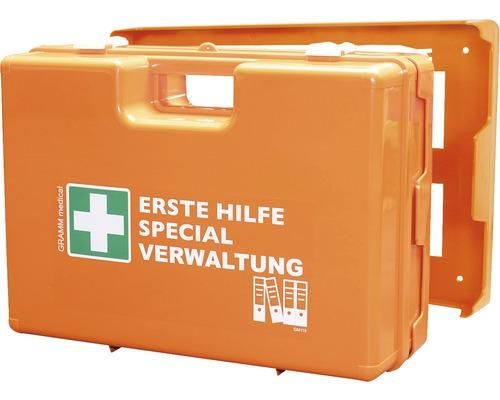 Coffret de pansements spécial administration DIN 13 157, équipement spécial inclus