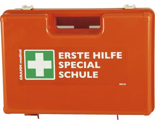Coffret de pansements Écoles DIN 13 157, équipement supplémentaire spécial pour écoles inclus