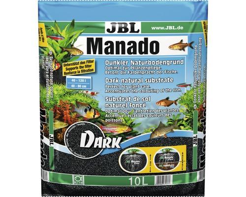 Substrat de sol JBL Manado DARK 10l