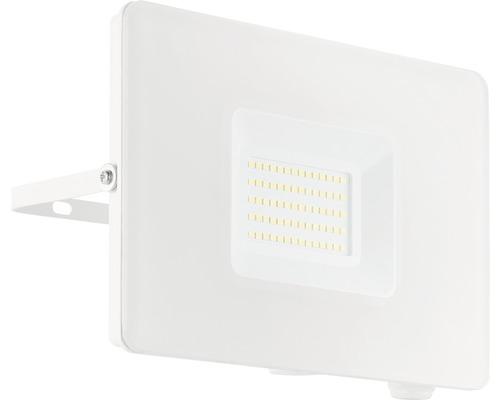Projecteur LED 50W 4800 lm 5000 K blanc neutre L 205 H 145 mm blanc