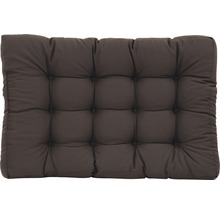 Coussin d''assise pour palettes anthracite 80x120x18 cm-thumb-0