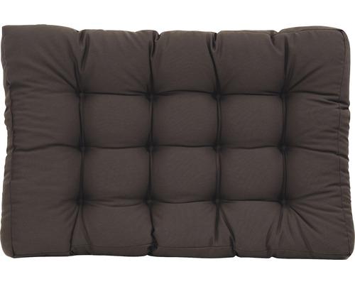 Coussin d''assise pour palettes anthracite 80x120x18 cm