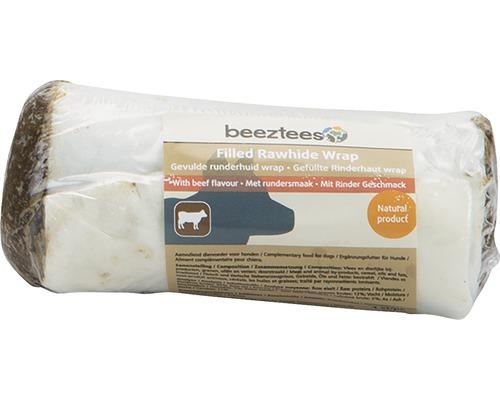 Os à mâcher Wrap beeztees peau de bœuf garnie 8-12 cm