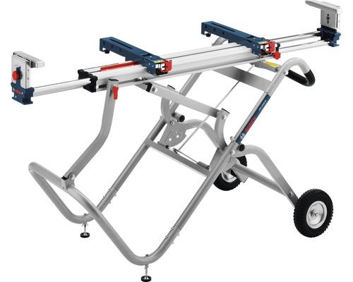 Table de transport et de travail Bosch Professional GTA 2500 W avec support de machine
