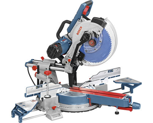 Scie à onglet radiale Bosch Professional GCM 12 SDE Professional, avec 1x lame de scie circulaire