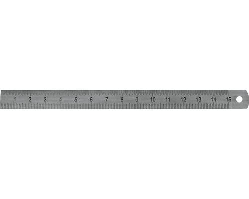 Maßstab Stahl rostfrei 30 cm