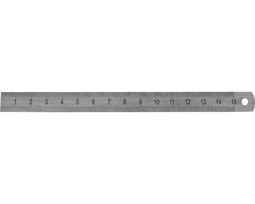 Maßstab Stahl rostfrei 50 cm