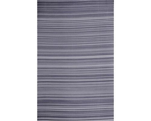 Tapis en chiffon gris 120x180 cm