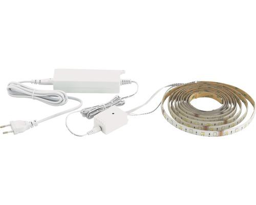LED Stripe RGBW 5,0 m 2000 lm 375 LED´s Crosslink 2700-6500 K mit Farbwechsler App steuerbar 12V