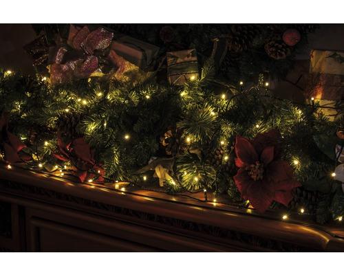 Guirlande lumineuse LED Lafiora 160 ampoules extérieur et intérieur blanc chaud avec contrôleur, 8 fonctions différentes